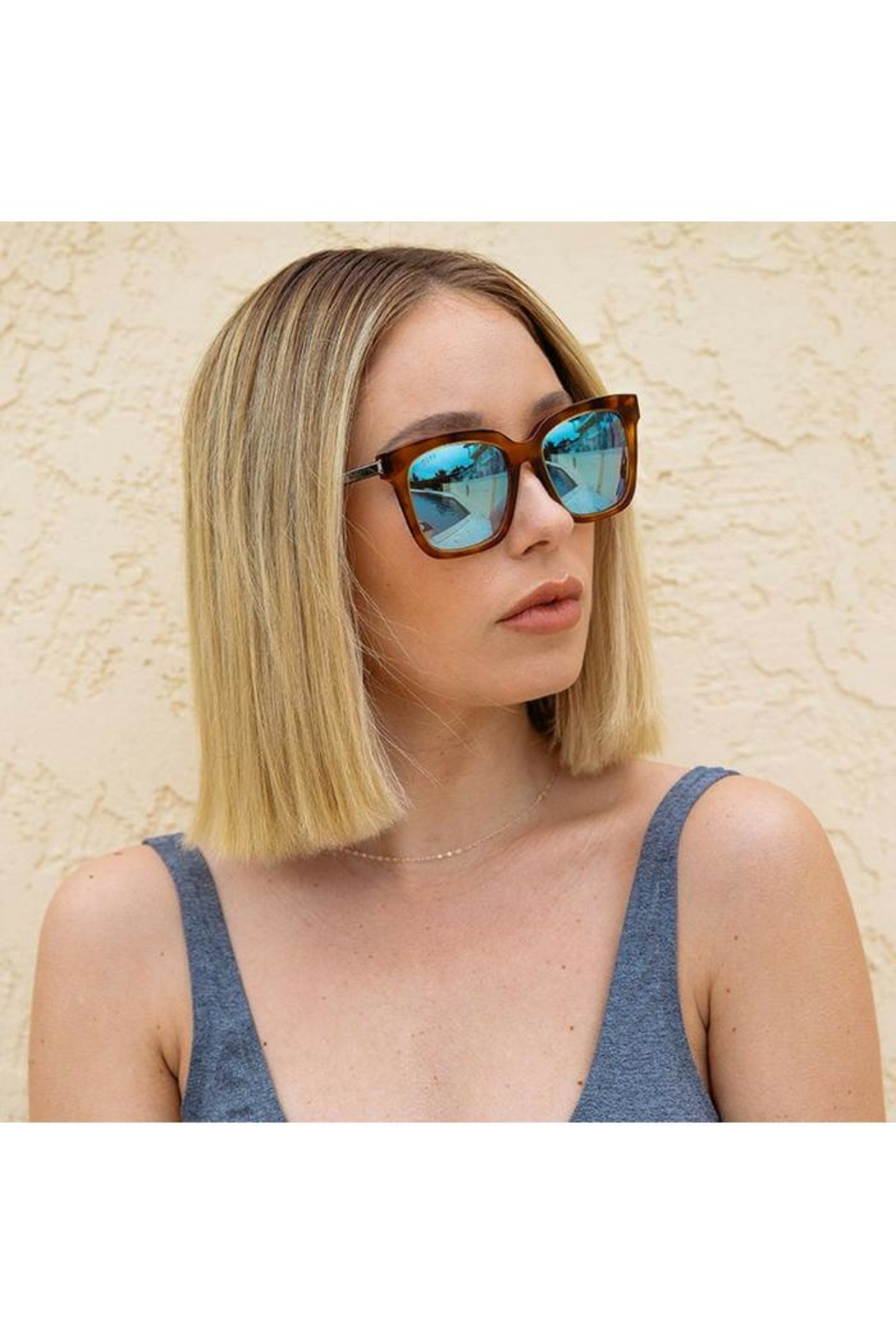 d8dc69a567 Diff Eyewear Bella Square Sunglasses from Wallingford by The ...