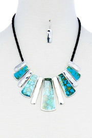 Bella Stone Bead Multi Necklace Set - Product Mini Image