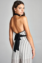 Racine Bella Stripe Jumpsuit - Product Mini Image
