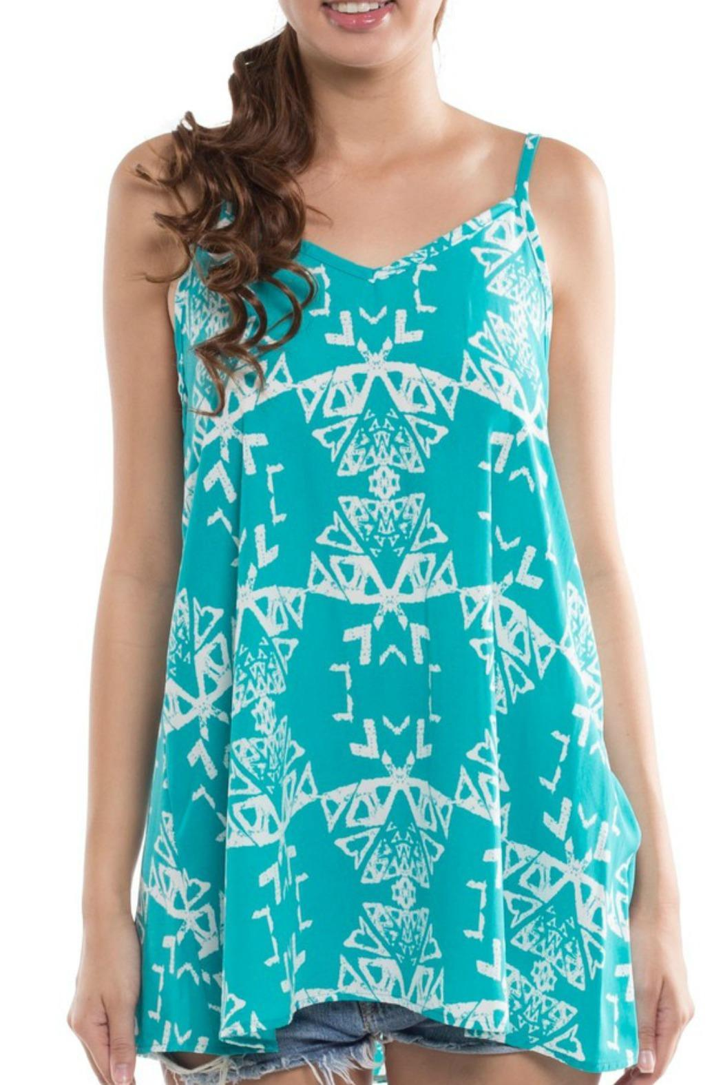 Tribal Printed Tank