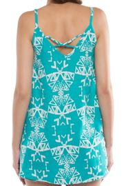 Shoptiques Product: Tribal Printed Tank - Side cropped