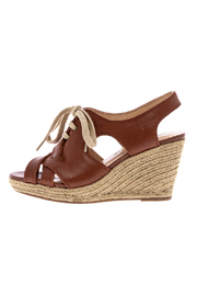 Shoptiques Product: Lace Up Wedge Espadrille - Front cropped