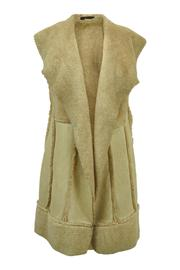 Bella Amore Faux Shearling Vest - Product Mini Image