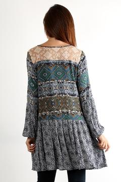 Shoptiques Product: Printed Long Sleeve Dress
