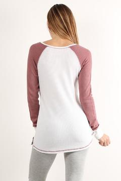 Shoptiques Product: Textured Long Sleeve Tee