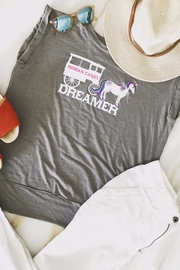 Bella Canvas Dreamer Muscle Tee - Front full body