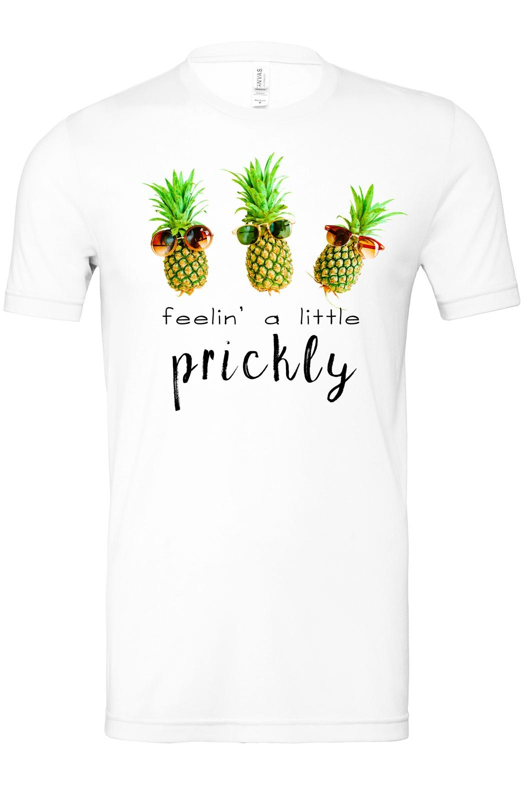 Bella Canvas Feelin' Prickly Tee - Side Cropped Image