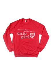 Bella Canvas Ohio Girl Sweatshirt - Front cropped