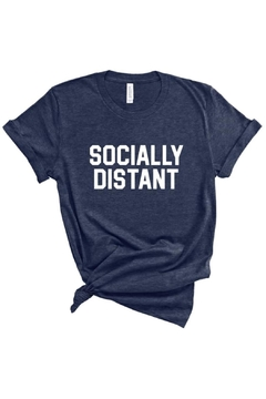 Bella Canvas Socially Distant Tee - Product List Image