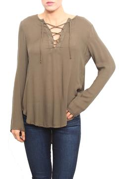 Shoptiques Product: Olive Bell Sleeve Top