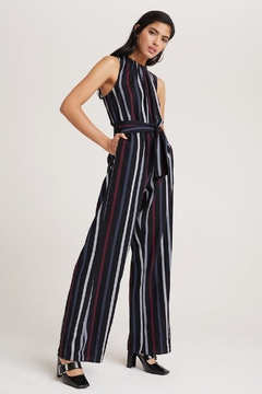 Bella Dahl Bold Striped Jumpsuit - Alternate List Image