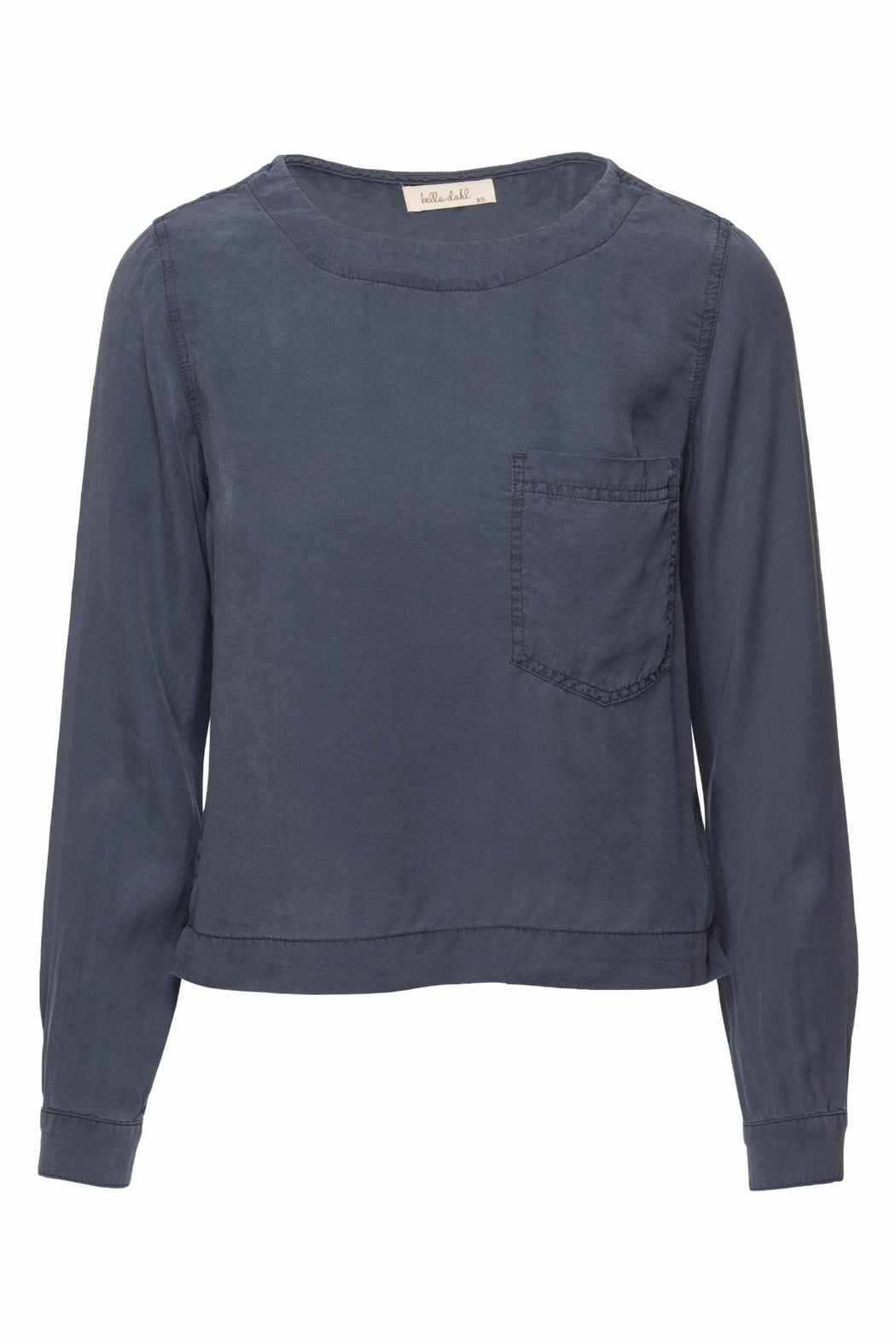 Bella Dahl Button Back Pullover - Front Cropped Image