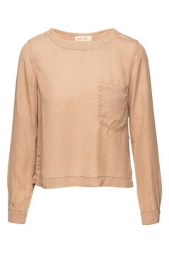 Shoptiques Product: Button Back Pullover Top
