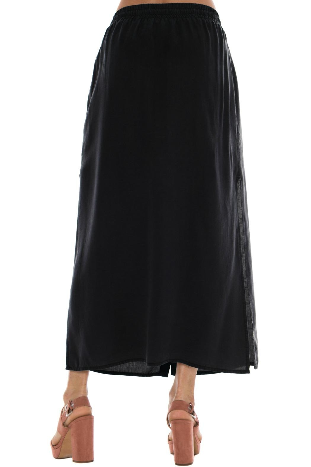 Bella Dahl Button Front Skirt - Front Full Image