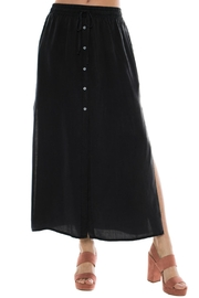 Bella Dahl Button Front Skirt - Front cropped