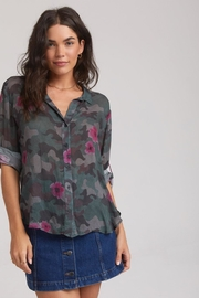 Bella Dahl Camo-Floral Button Down - Product Mini Image