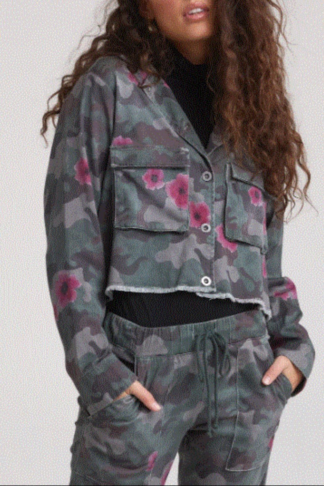 Bella Dahl Camo Jacket - Main Image