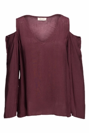 Bella Dahl Alyssa Cold Shoulder Top - Product Mini Image