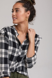 Bella Dahl Dahl Frayed Plaid - Product Mini Image