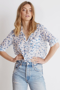 Bella Dahl Floral Button Down - Product List Image