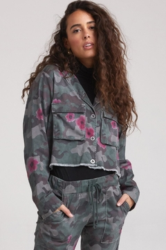 Bella Dahl Floral Camo Jacket - Alternate List Image