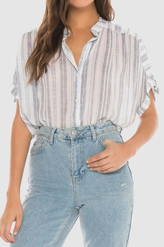 Shoptiques Product: Flowy Stripe Top