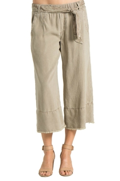 Bella Dahl Fray Hem Crop Pant - Alternate List Image