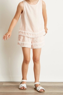 Bella Dahl Fray-Hem Flowy Short - Product List Image