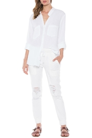 Bella Dahl Fray Hem Shirt - Product Mini Image