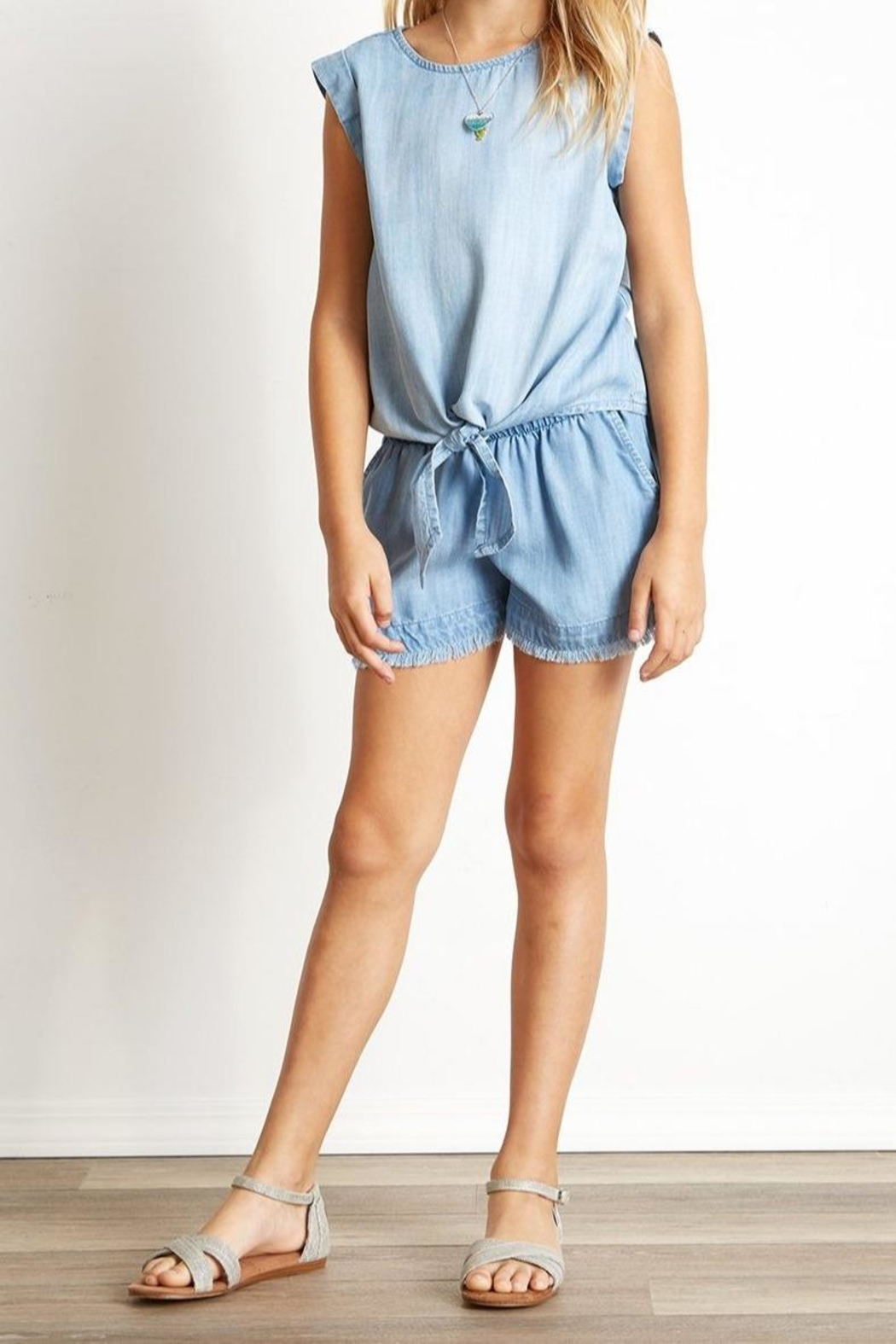 Bella Dahl Fray Hem Short - Main Image