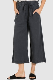 Bella Dahl Frayed Crop Pant - Product Mini Image