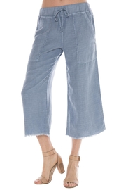 Bella Dahl Frayed Hem Crop Pants - Product Mini Image