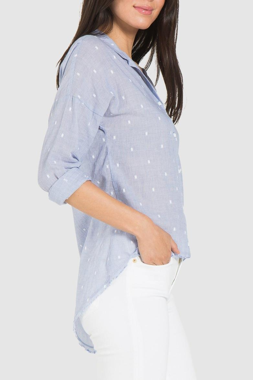 Bella Dahl High-Low Shirt - Front Full Image