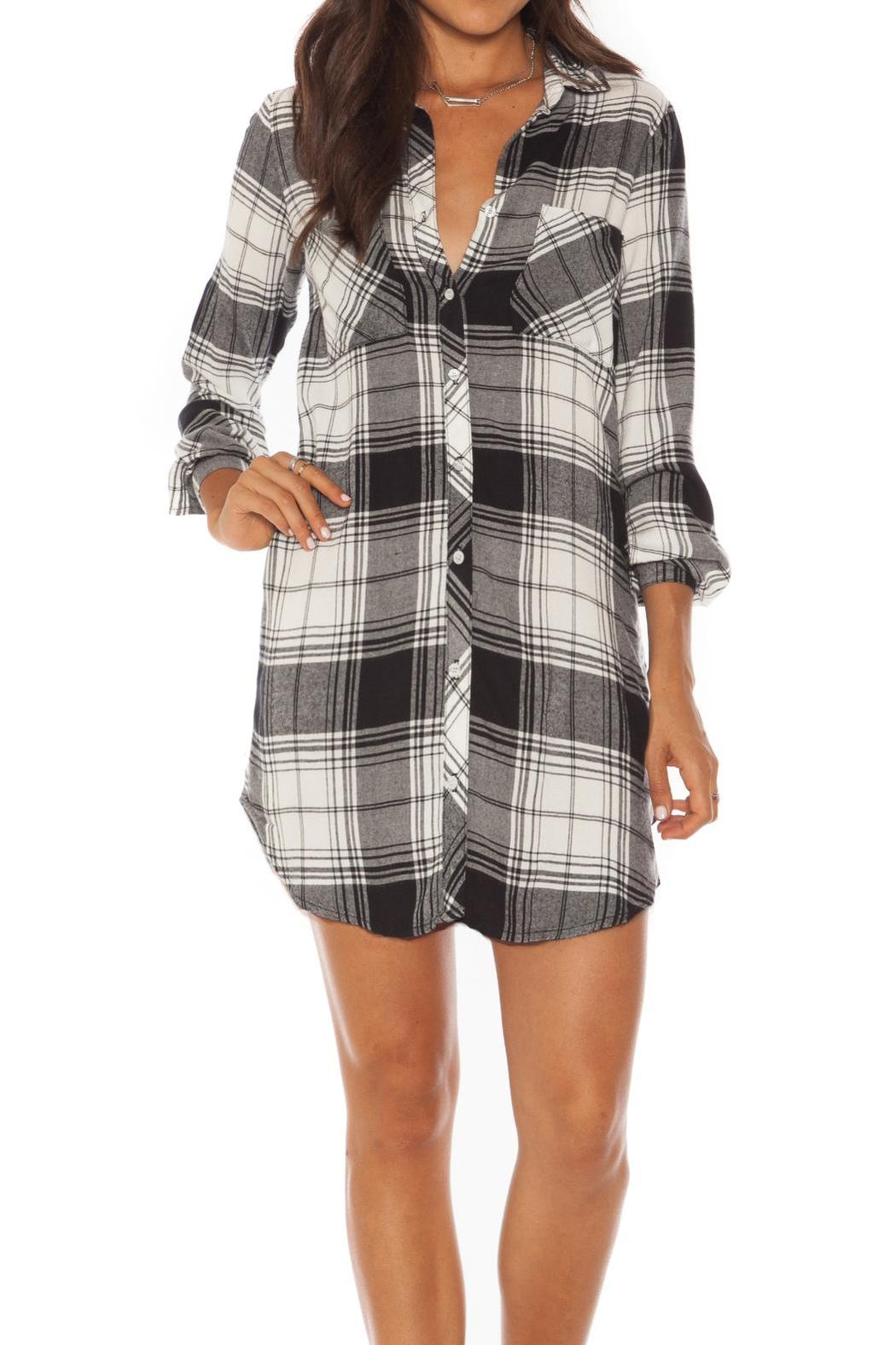 Bella dahl hipster plaid dress from canada by red ribbon for Bella dahl plaid shirt