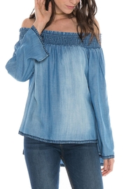 Bella Dahl Off Shoulder Smocked - Product Mini Image