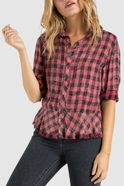 Bella Dahl Peplum Button Down - Product Mini Image