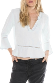 Bella Dahl Peplum Shirt - Product Mini Image