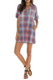 Bella Dahl Plaid A Line Dress - Product Mini Image