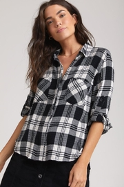 Bella Dahl Plaid Button Down - Product Mini Image