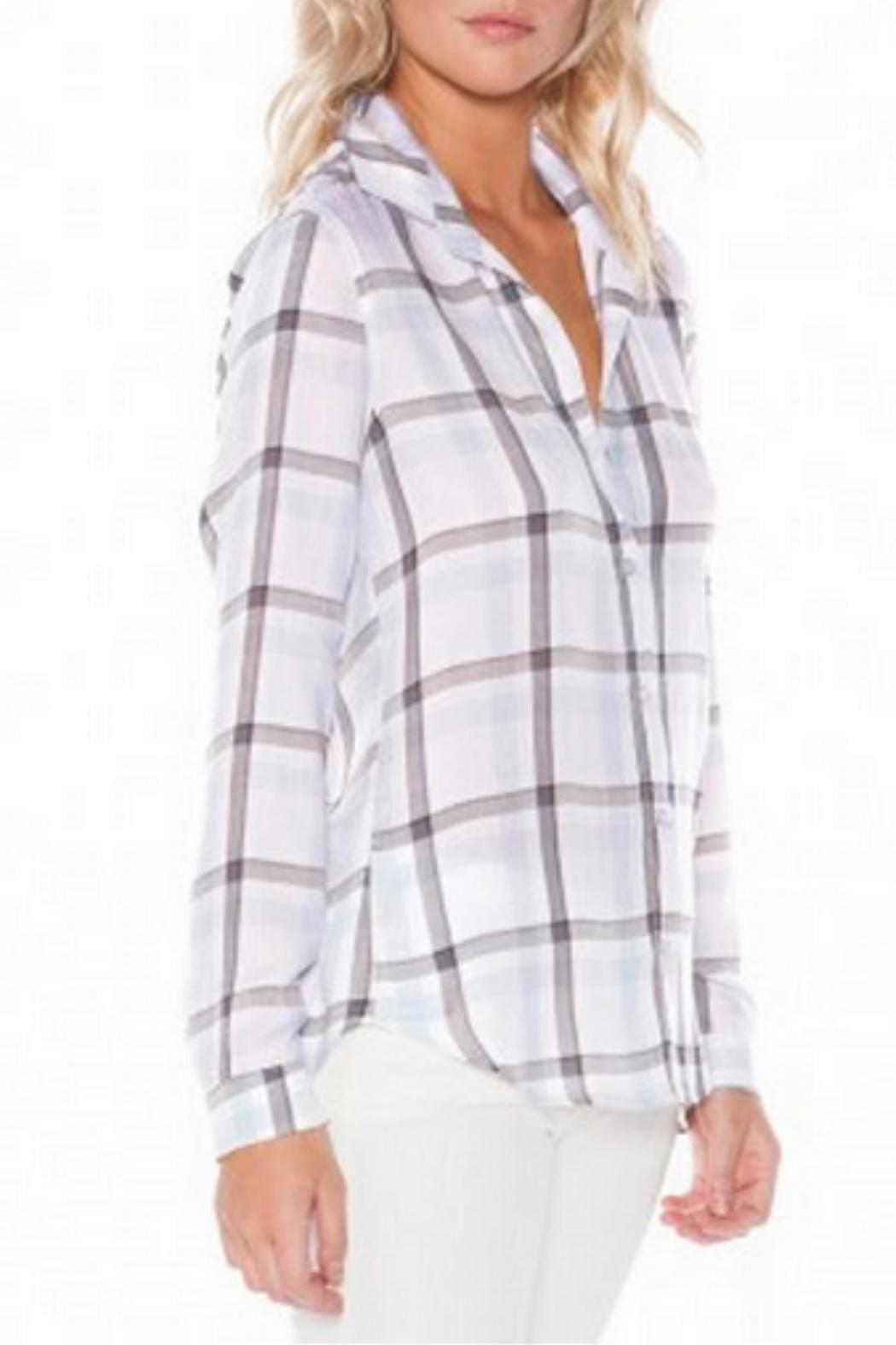 Bella dahl plaid button up from vancouver by courtney for Bella dahl plaid shirt