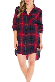 Bella Dahl Plaid Sleep Shirt - Product Mini Image