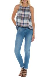 Bella Dahl Plaid Swing Tank - Product Mini Image