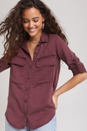 Bella Dahl Pocket Utility Shirt - Product Mini Image