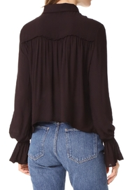 Bella Dahl Ruffled Back Blouse - Front full body