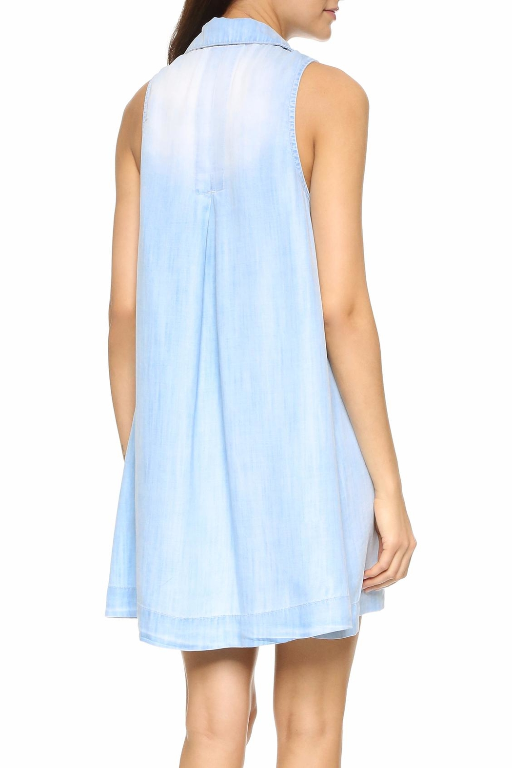Bella Dahl Sky Wash Dress - Front Full Image