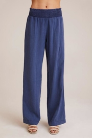 Bella Dahl Smocked Wide-Leg Pant - Front cropped