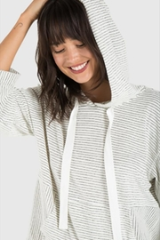 Bella Dahl Spitback Hoodie - Front full body