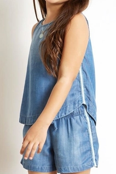 Bella Dahl Sporty Denim Tank - Alternate List Image