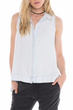Bella Dahl Tencel Trapeze Top - Product List Image