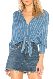 Bella Dahl Tie Front Shirt - Product Mini Image